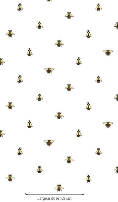 Papier peint Wild Honey Bee Spot
