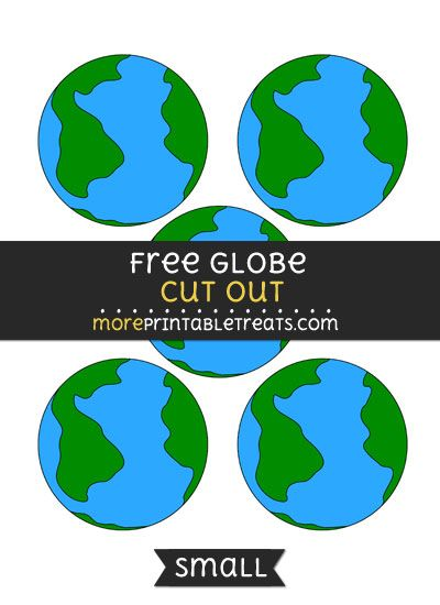 image about Printable Globe identified as Cost-free Entire world Lower Out - Tiny Dimension Printable Free of charge Printable