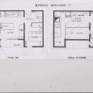 Plan Appartement 50m2 Duplex Plan De Maison Mitoyenne Plan De Maison F3 Plan De Maison Luxueuse