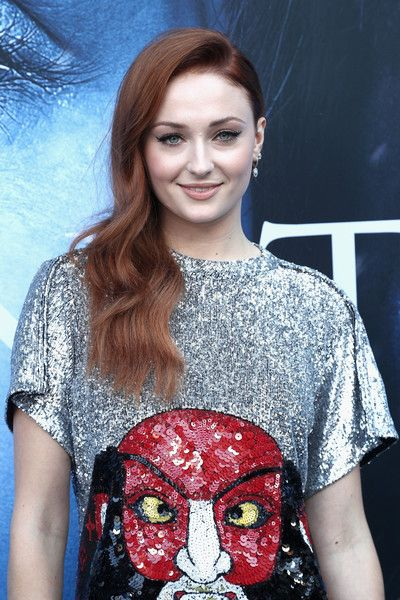 Actor Sophie Turner attends the premiere of HBO's 'Game of Thrones.'