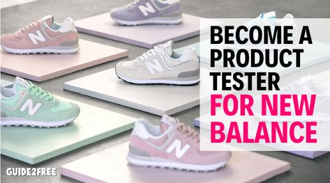 Become A Product Tester For New Balance Brand Shoes Become A