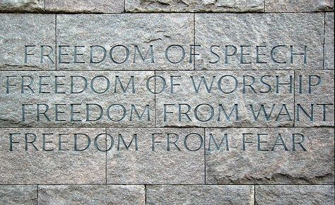 During World War Ii The Allies Adopted The Four FreedomsFreedom