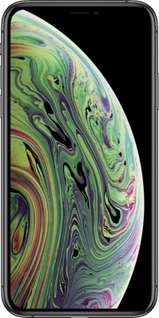 Best Buy Apple Iphone Xs 256gb Space Gray Verizon Mt972ll A Apple Iphone Simple Mobile Get Free Iphone Iphone xs office wallpaper