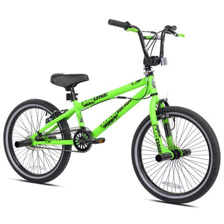 Madd Gear 20 Freestyle Bmx Boy S Bike Green Walmart Com In 2020 Bmx Bikes Boy Bike Bmx Freestyle