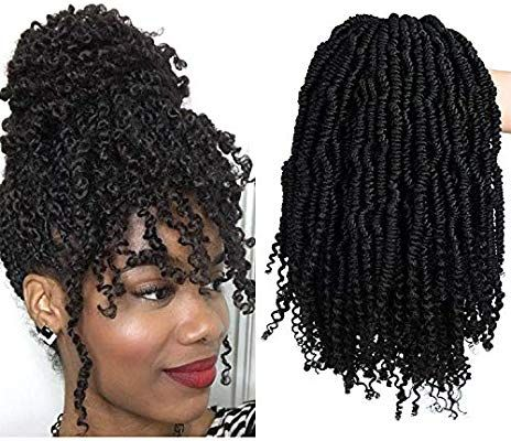 Amazon Com 2 Packs Passion Spring Twists Synthetic Crochet Hair