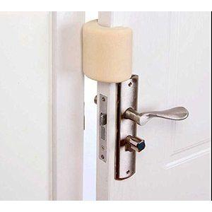 ドアノブロック ドアクッション ドアストッパー ゴム 開閉式棚