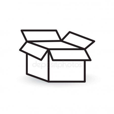 Open Box Icon Vector Illustration Stock Vector Ad Icon Box Open Vector Ad Box Icon Vector Illustration Illustration