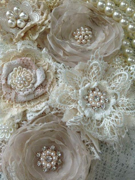 handmade flowers by Va