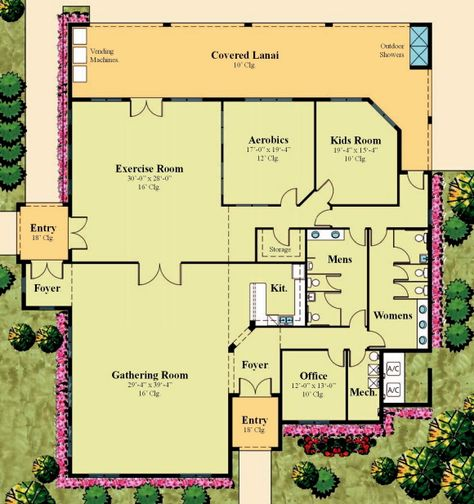 51 Clubhouse Ideas How To Plan Floor Plans Club House