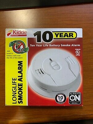 Details About Kidde Ionization Smoke Alarm I9010 10 Year Long Life Brand New Smoke Alarms 10 Years Longer Life