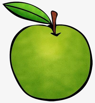 رسموا أخضر أبل Fresh Fruit Green Apple Fruit