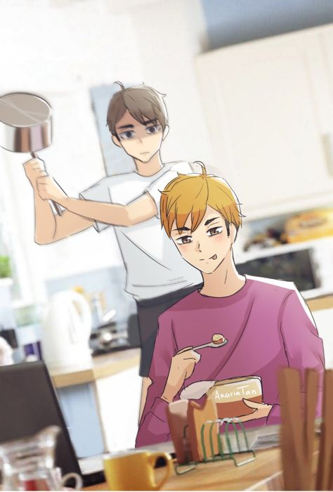 isnt astumu supposed to be the one with the pan like..... walmart sangwoo