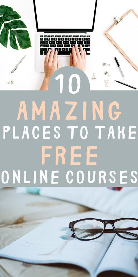 10 Platforms To Take Online Courses For Free