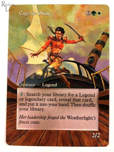 MTG Captain Sisay Invasion Rare NM//MT Single