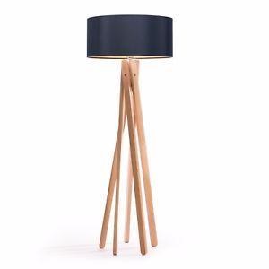 Lampenschirm Stehlampe Schwarz Gold