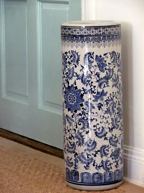 I Have Always Loved Blue White And This Umbrella Stand Is Gorgeous From Joss Main