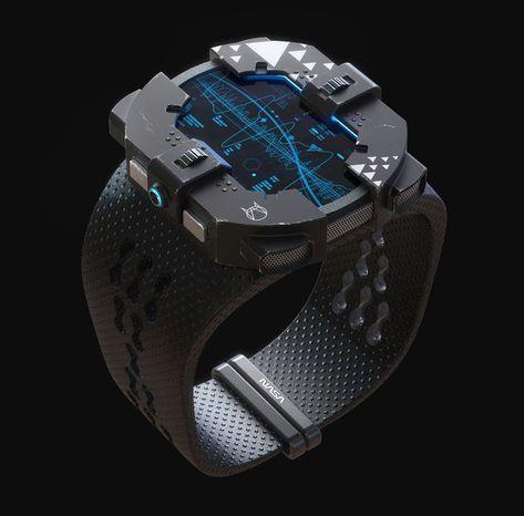 ArtStation NASA watch, Alexander Kuznetsov is part of Futuristic watches - Rolex Explorer, Luxury Watch Brands, Luxury Watches For Men, Modern Watches, Omega Speedmaster, Futuristic Technology, Technology Gadgets, High Tech Gadgets, Rolex Submariner