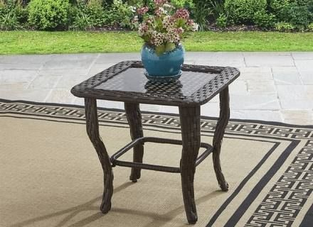 Outdoor Patio Furniture Fred Meyer Glass Top Side Table Outdoor