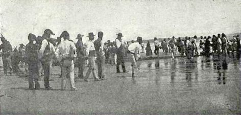 Mar de Caparica: Trafaria e Costa de Caparica em 1901