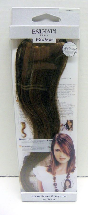 buying new reliable quality san francisco New BALMAIN PARIS Color Fringe Hair Extensions 11.8
