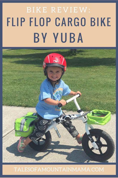 Yuba Flip Flop Cargo Bike For Kids Cargo Bike Kids Bike