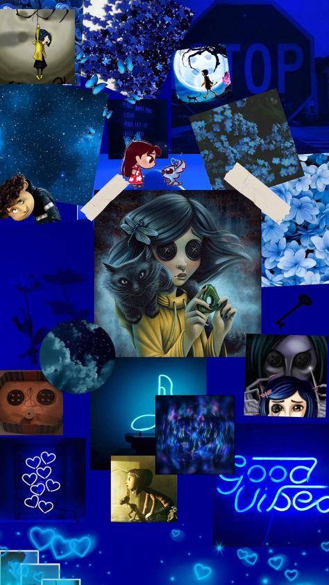 Wallpaper Coraline passo a passo