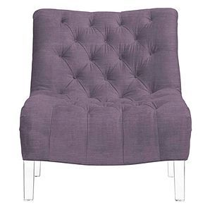 Nya Accent Chair Acrylic Furniture Affordable Modern