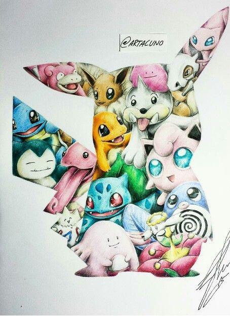 pokemon  pikaceptionartacuno  pokemon zeichnen