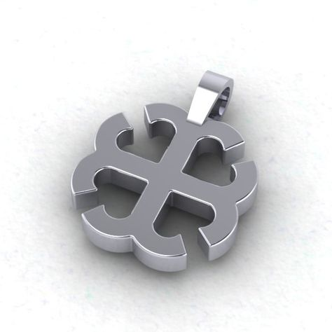 Custom Made French cross pendant  Saint Mary's College