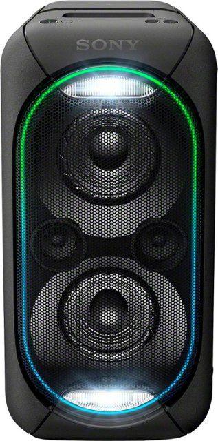 Sony High Power Xb60 Portable Bluetooth Speaker Black Gtkxb60 Best Buy Bluetooth Speakers Portable Portable Speaker Sony Speakers