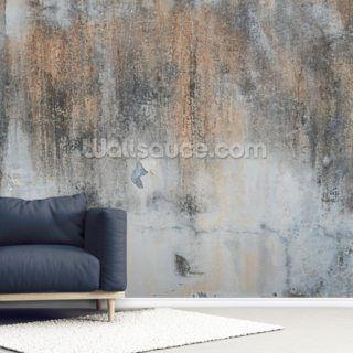 Aged Concrete Wallpaper Wallsauce Us In 2020 Concrete Wallpaper Brick Wall Wallpaper Industrial Art