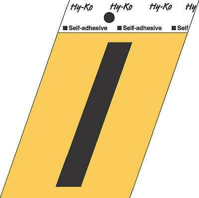 3 1 2 Inch Black Gold Aluminum Adhesive Letter I Pack Of 10 Fashion Home Garden Homedcor Decalsstickersvinylart Ebay In 2020 Vinyl Lettering Letter I Adhesive