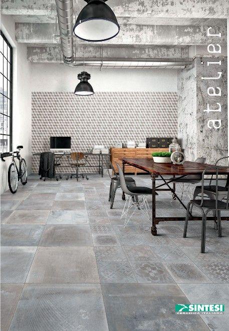 Carrelage 60x60 Serie Atelier Sintesi Carrelage Sol Interieur