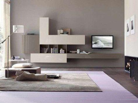Arredare il soggiorno con il color tortora - Colore pareti ...