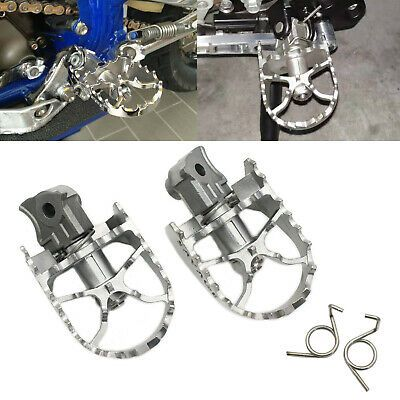 1 to 1-1//4 Engine Guards Anti-Vibrate Engine Guard Foot Pegs with Clamps for Suzuki V-Strom Vstrom 650