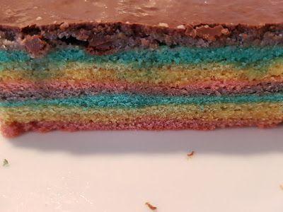 Regenbogen Baumkuchen Kuchen Regenbogen Kuchen Regenbogen