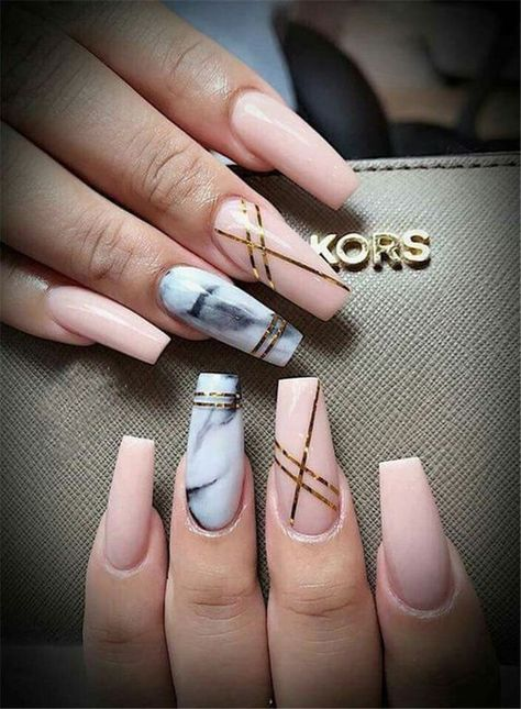 49 Beautiful Acrylic Coffin Nails Designs Ideas You Need to Copy Immediately