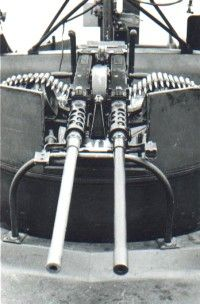 Resultado de imagem para twin .50 machine guns mount on PBR