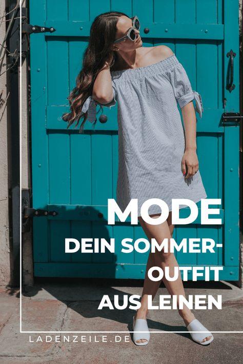 Mit Kleidung aus Leinen bist du im Sommer cool unterwegs. In der Modewelt von LadenZeile haben wir die besten Tipps zu dem atmungsativen Stoff für den Sommer für dich. Entdecke Stylingtipps und Leinenmode für dein sommerliches Outfit für heiße Tage! Ob Kleid, Bluse oder Jumpsuit – mit Leinen zeigst du der Hitze stylish die kalte Schulter! #leinen #leinenmode #leinenkleid #sommeroutfit #sommerlook