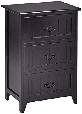 Amazon Com Casart 3 Drawers Nightstand End Table Bedroom Organizer Storage Wood Side Bedside Kitchen Bedroom Organization Storage Storage 3 Drawer Nightstand