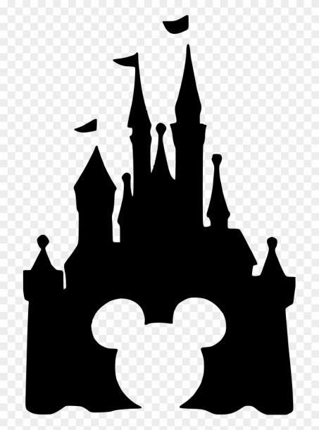 Cinderella Castle Outline Disney Castle Drawing Disney Castle Outline Disney Castle Silhouette
