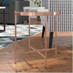 Beistelltische Ablagetische Ablagetische Beistelltische In 2020 Side Table Side Table With Storage Copper Side Table