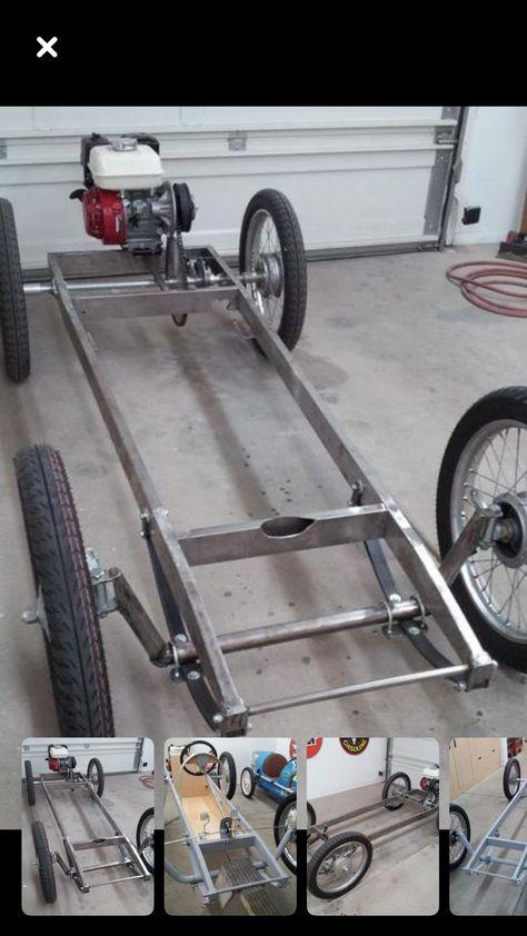cadre cyclecar voiture enfant