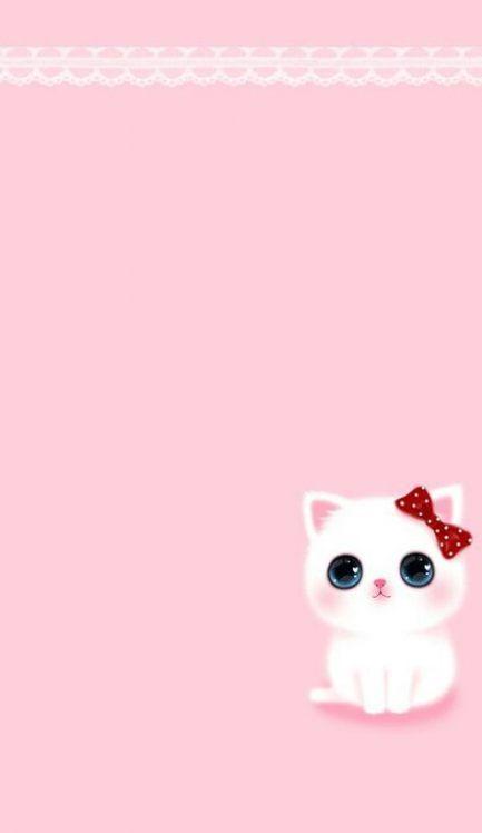 Wall paper iphone pastel pink polka dots 62+ Ideas #wall