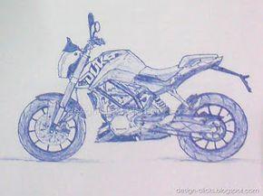 Sketch Ktm Duke 200 Buscar Con Google Ktm Duke Ktm Duke 200