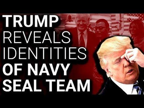 Trump exposes seal team
