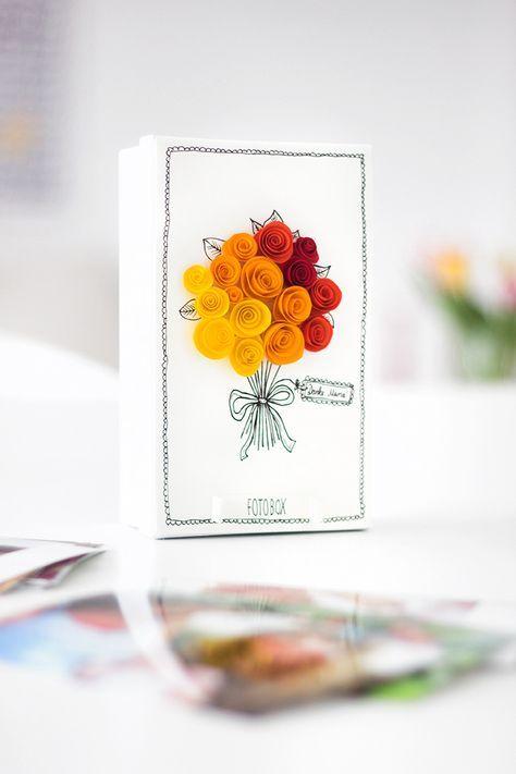Diy Fotobox Geschenkidee Zum Muttertag