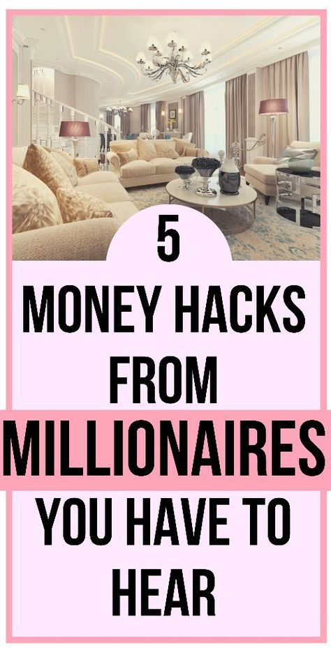 These 5 Millionaires Reveal Their Advice When It Comes To Money The Werk Life Money Saving Tips How To Get Rich Money Advice
