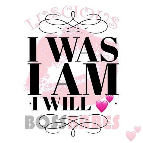 kudos I was. I am. I will...