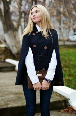 winter 2014 trends capes hot year 3 - Winter trends: Capes are hot this year 15 ways to wear them